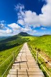 Puy de Dome βουνό και Auvergne τοπίο Στοκ φωτογραφίες με δικαίωμα ελεύθερης χρήσης