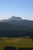 Puy de dome Royalty Free Stock Image