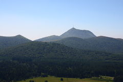 Puy de dome Royalty Free Stock Photos
