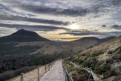 Puy de dome Image libre de droits