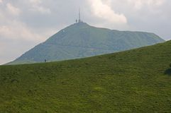 Puy de Dome, France Royalty Free Stock Image