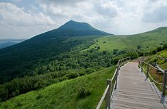 Puy de Dome, France Royalty Free Stock Photography