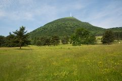 Puy de Dome, France Royalty Free Stock Images