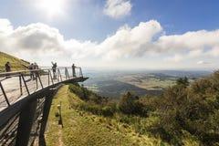 Puy de Dome, Frankrijk stock foto's