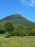 Puy de Dome Royalty Free Stock Images