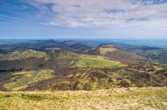 Puy de Dome mountaintop Auvergne Royalty Free Stock Photography