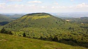 Puy De Pariou wulkan w środkowym Francja Obraz Royalty Free