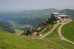 Puy de Sancy,法国 免版税图库摄影