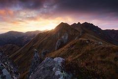 Puy de Sancy в Auvergne Франции Стоковое Фото