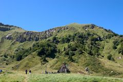 Puy de Sancy 01 Stock Photo