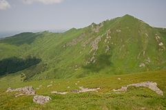 Puy de Sancy, France Image stock