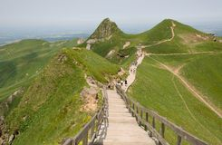 Puy de Sancy, France Royalty Free Stock Image