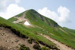 Puy de Sancy, France. Mountain Puy de Sancy in Central Massif, Auvergne, France Stock Photo