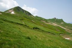 Puy De Sancy, Francja Obraz Stock