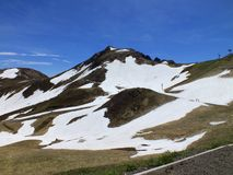 Puy de Sancy Royalty Free Stock Photography