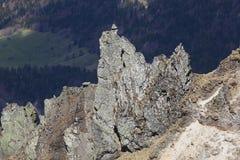 Puy de Sancy, Mont Dore Στοκ εικόνες με δικαίωμα ελεύθερης χρήσης