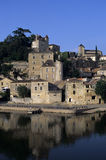 Puy l'eveque. Lot valley midi-pyrenees france Royalty Free Stock Photo