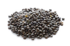 Puy lentil or lentilles vertes Royalty Free Stock Photo
