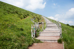 Puy Pariou. Dormant volcano in the Auvergne, France Stock Photography