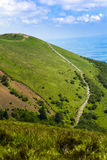 Puy Pariou and footpath in Auvergne Stock Images