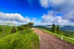 Puy Pariou and landscape of Auvergne Stock Photos