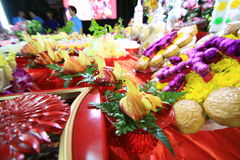 Puya Shrine Arkivfoto