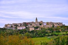 Puycelci, a beautiful village in southern France Stock Photo