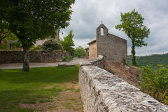 Puycelsi. A chapel of Puycelsi, France Stock Image