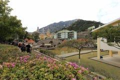puzhaosi庭院(发光寺庙) 免版税图库摄影