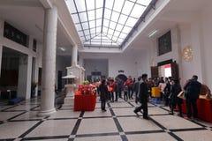 puzhaosi主要大厅(发光寺庙) 库存图片
