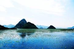 Puzhihe Sceniczny teren, typowy krasu landform zdjęcia royalty free