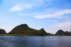 Puzhihe Toneelgebied, typische karst landform royalty-vrije stock afbeelding