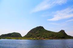 Puzhihe Toneelgebied, typische karst landform stock fotografie