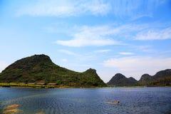 Puzhihe Toneelgebied, typische karst landform royalty-vrije stock foto's