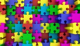 Puzzel Royalty-vrije Stock Afbeeldingen