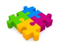 Puzzel Stock Afbeeldingen