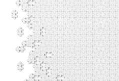Puzzel gigsaw tapetowy abstrakcjonistyczny tło folujący hd Fotografia Royalty Free
