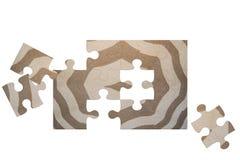 Puzzel hand-woven carpet Royalty Free Stock Photo