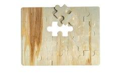 Puzzel met het ééndelige missen Stock Foto