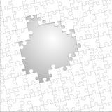 Puzzelmalplaatje Royalty-vrije Stock Afbeeldingen