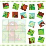 Puzzelspel voor Kinderen vector illustratie