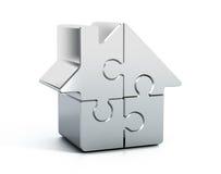 Puzzle à la maison Images stock