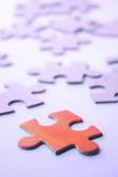 Puzzle - à la recherche des stratégies Photos libres de droits