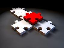 Puzzle-1 Imagen de archivo libre de regalías