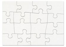 Puzzle 1 Royalty Free Stock Image