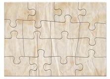 Puzzle 1 dégradé Photo libre de droits