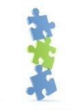 Puzzle illustration libre de droits