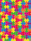 Puzzle Immagine Stock Libera da Diritti