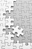 Puzzle. It is puzzle. and solution,  success,  teamwork Royalty Free Stock Image