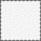 Puzzle. Seamless jigsaw puzzle with 200 pieces Royalty Free Stock Photography